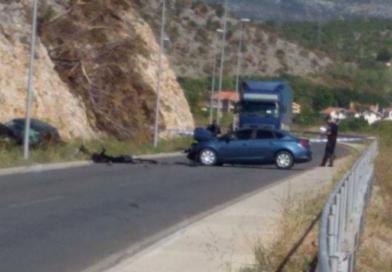 Težak udes u PG: Poginuo policajac, povrijeđen komandant SAJ-a