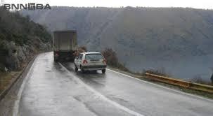 AMSCG: Mjestimično mokri i klizavi kolovozi