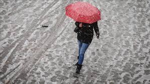 Oblačno sa sniježnim padavinama
